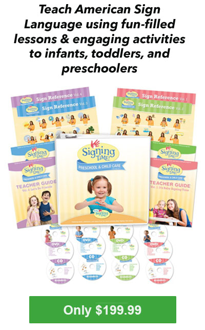 Baby Signing Time PreSchool and Child Care Program - Sign Language Lessons for 0-5